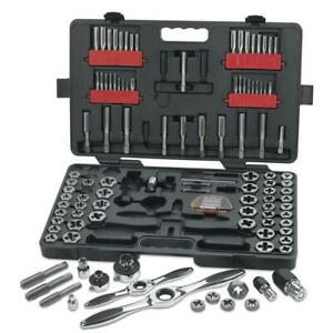 GEARWRENCH 82812 114pce SAE/Metric Ratcheting Tap & Die Set