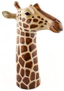 Quail Ceramic  Flower Vase  Giraffe