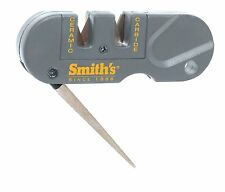 NEW SMITH'S POCKET PAL PP1 Multifunction Knife Sharpener Diamond Rod Serrated