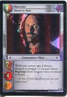 Lord Of The Rings Foil CCG Card RotK 7.P364 Aragorn, Driven By Need