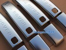 Matt Chrome door handle cover For Land Range Rover sport 10-12 with smart hole