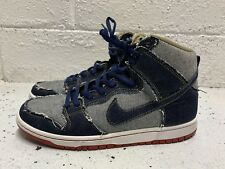 Nike SB Dunk High Pro Reese Forbes Denim Mens Size 9 2017 Release