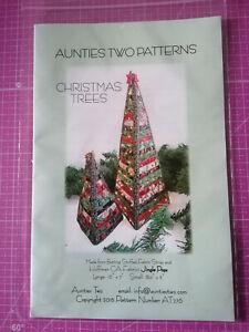 Weihnachtsbäume Anleitung mit Bildern Tannenbaum Klein ca. 21 cm Gross ca. 40 cm