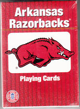 Arkansas Razonback Playing Cards By Patch Products, Brand New