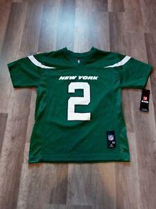 NFL Team Apparel New York Jets Zach Wilson Jersey Youth Size XL 18/20 NWT