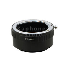 Camera Adapter For Prakticar PB Lens to Sony NEX A5100 A6000 A3000 5T 3N A7SII