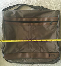 Vintage Atlantic Brown Garment Bag.