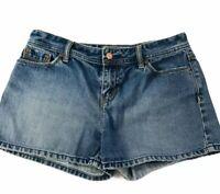 Old Navy Women Size 4 Low Waist 100% Cotton Denim Jean Shorts