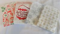 """Candy Christmas Santa Xmas Paper Sweet Gift Shop Party bags  Birthday 5 x 7"""""""