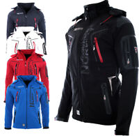 Geographical Norway Herren Softshell Jacke FVSB regen Jacke Winter Funktions