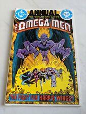 Omega Men ANNUAL #1 1984 DC Comics