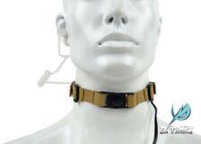 Z Tactical Tactical Throat Mic Microphone Headset w/ Tube Earphone (Z033 TAN)