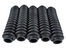 BLACK Shock Boots 5 PACK UNIVERSAL FITMENT FOR Jeep, Truck, SUV's FREE SHIP