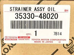 Genuine OEM Toyota Lexus 35330-48020 Automatic Transmission Filter OPEN BOX