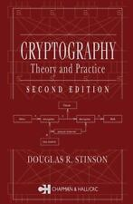 Cryptography : Theory and Practice, Stinson, Douglas R., Good Book