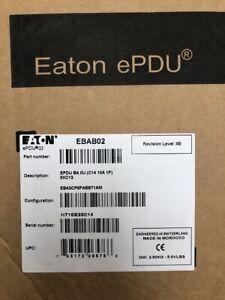 Eaton ePDU C14 10A 1P 8-Outlet Rack Mount Power Distribution Unit EBAB02