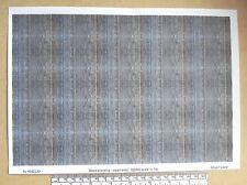 """OO/HO gauge (1:76 scale) """"wood planking - weathered"""" -  paper - A4 sheet"""