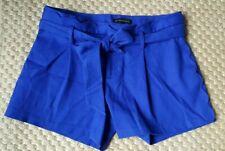 BANANA REPUBLIC LADIES SHORTS ROYAL BLUE L/XL