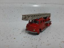 1960s Siku Mercedes  fire ladder truck    NO RESERVE