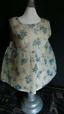 Vintage! Swiss Dotted Floral Dress for Vintage Hard Plastic or Composition Dolls
