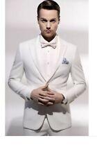 Men White Suit Slim Fit For Wedding ,party,special Event. Size S M L
