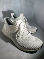ADIDAS Mens ULTRA BOOST 3.0 Triple White Shoes Size 12