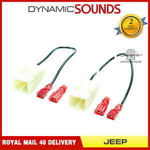 CT55-JP01 Car Speaker Adapter Harness Connectors Lead for Jeep