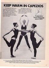 "1975 Vintage Capezio ""Stirrup Leg Warmers"" Jack Mitchell Photo Print Advert"