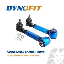 Upper Rear Camber Control Arms for Honda Pilot Acura MDX ZDX Adjustable Kits Set