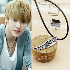 Korean Fashion EXO KRIS Antique Flying Wing Leather Necklace Made in Korea