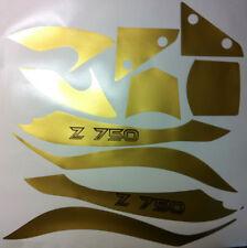 Adesivi Kawasaki Z750 K6 2006 oro - adesivi/adhesives/stickers/decal