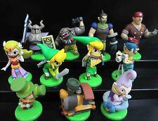 """lot 11 The Legend Of Zelda Spirit Tracks Link Bryne mini Figures Set 1.5"""" - 2"""""""