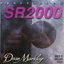 Dean Markley 2695 SR2000 5-String Bass Guitar Strings MED5  48-128