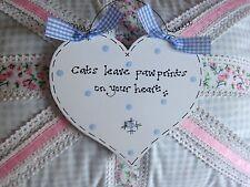 Personalised HEART Pet Memorial Sign Plaque ~ Keepsake Memory ~ Horse Dog Cat