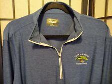 Men's 2021 US Open 1/4 Zip Pullover Straight Down Torrey Pines Golf Size Medium