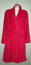 Charter Club Plush Robe Women's Plus Soft Red 3X