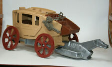 Bravestarr Stratocoach stagecoach wagon not complete Mattel 1986