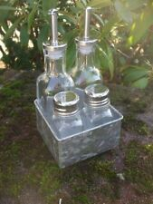 Dekorativer Servierständer für Essig, Öl, Pfeffer, Salz  versandkostenfrei
