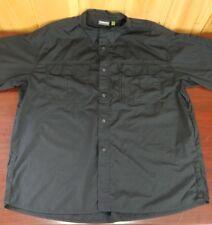 cabelas dress shirt black mem Xlarge