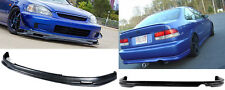 Type M Urethane Front Bumper Lip Spoiler Body kit For 99-00 Honda Civic 2 4 Door