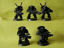 A5 Warhammer Caballeros Gris Ejército-huelga escuadrón 5 x Modelos de Plástico