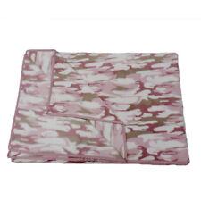 Super Soft Fleece Pink & Camo Camouflage Throw Blanket