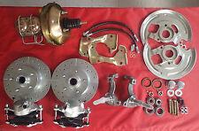 1962 -1967 Chevy II chevrolet  Nova front disc brake conversion power booster