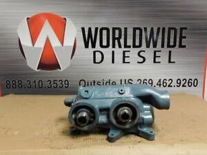 Detroit Series 60 12.7L Oil Filter Base. Part # 23506297