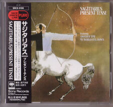Sagittarius Present Tense CD 1994 Japan Issue OBI My World Fell Down Gary Usher