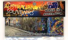 Melbourne Australia Hosier Lane, Photo, Image, Fridge Magnet, Souvenir.