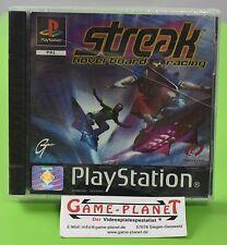 Streak Hoverboard Rennen PlayStation 1 Ps1 Spiel PAL