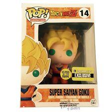 Dragonball Z Goku Glow In The Dark Exclusive Funko Pop! Licensed Vinyl Figure