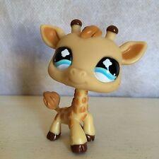 Littlest Pet Shop #632 Giraffe with Light Blue Clover Eyes USA seller 9 pictures