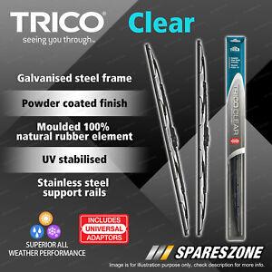 Pair Trico Clear Wiper Blades for Bmw 2500 3 Series E3 E21 5 Series E12
